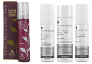 AHA and BHA Products